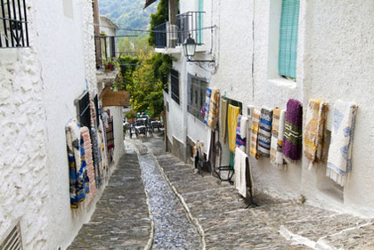 Gasse in Pampaneira