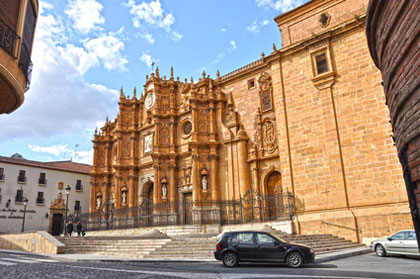 Kathedrale in Guadix