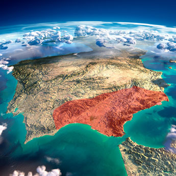 Wo Ist Andalusien
