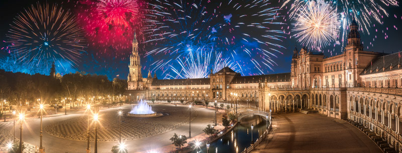 Silvester in Andalusien - Sevilla