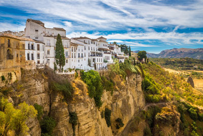 Ronda in der Sierra Nevada